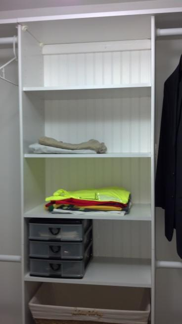 Installed A Closet Organizing System in Westerville