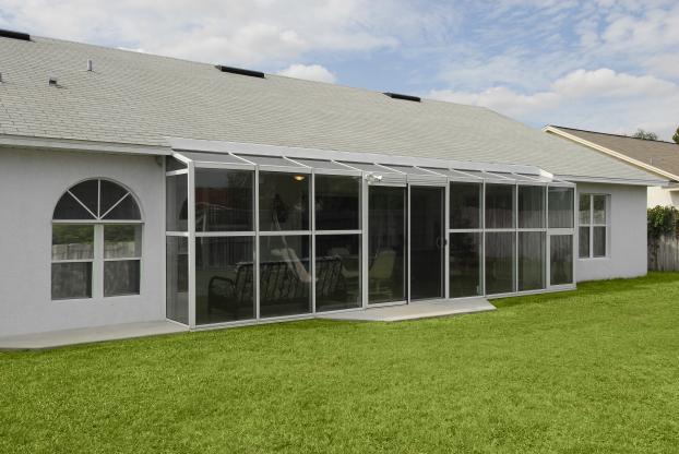 straight roof