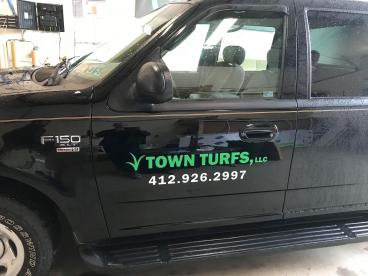 Town Turfs Vehicle graphics