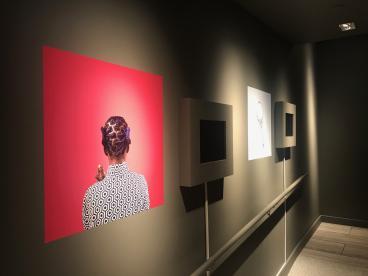 Wall decal Museum of the African Diaspora San Francisco