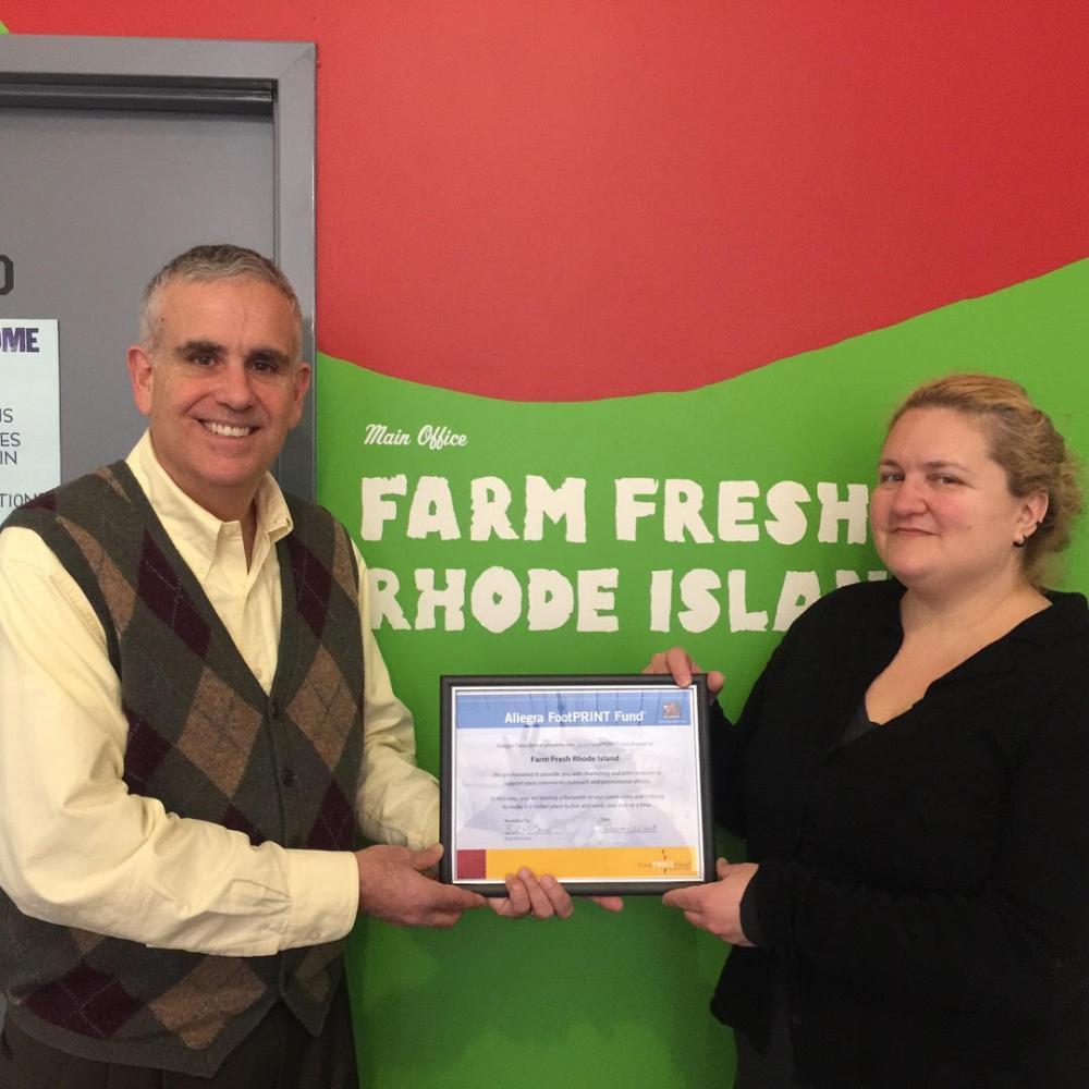 Farm Fresh receiving FootPRINT Fund Award 2018