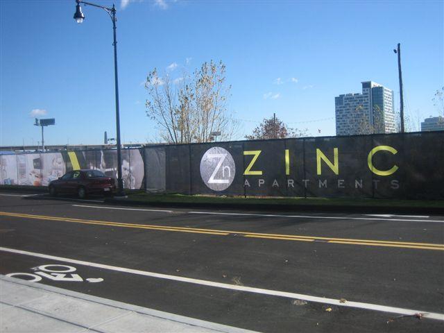 Fence Scrim - Boston Construction Site