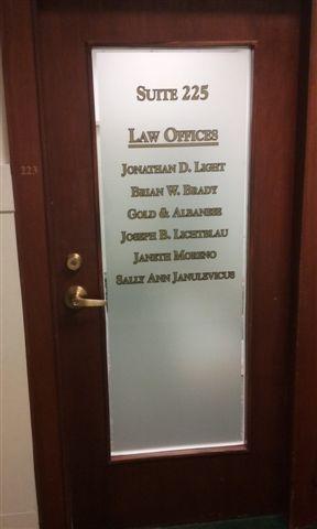 Office / Door Signage