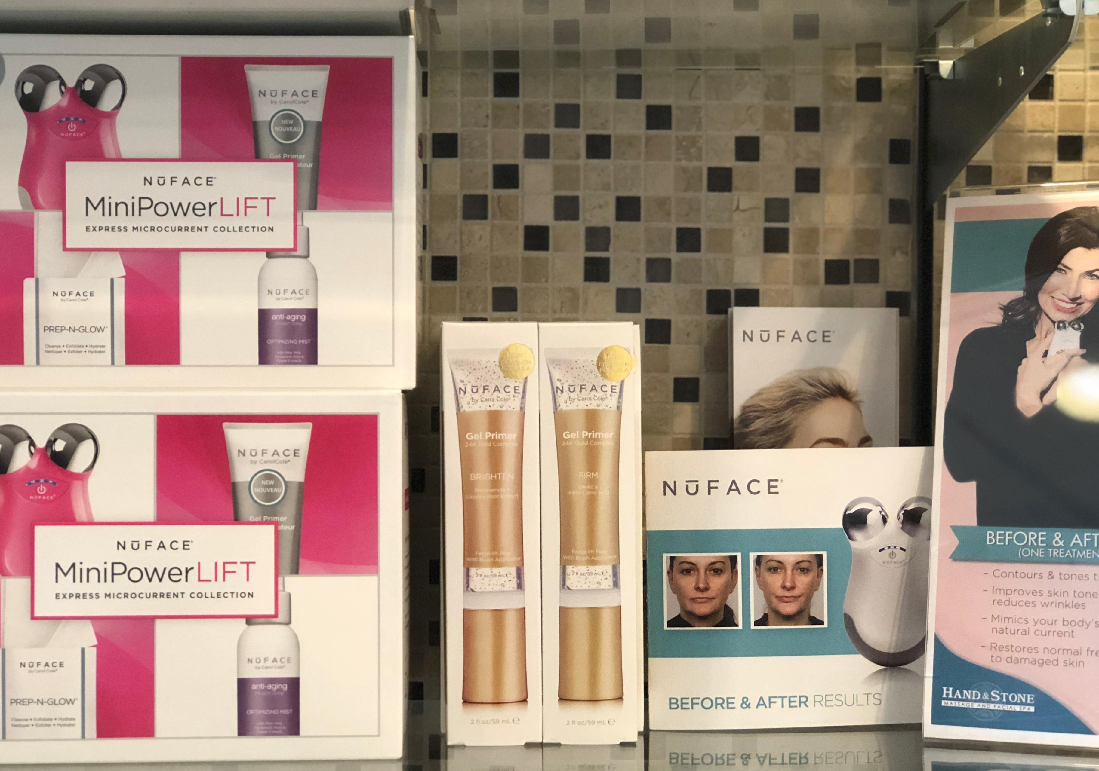 Try our NUFACE Quick Lift!