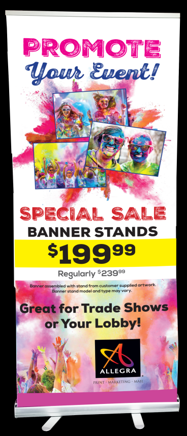 Promotional Pull-Up Banner
