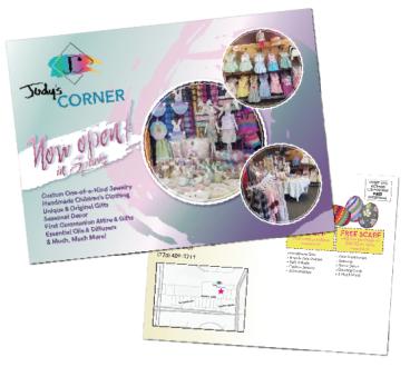 Judy's Corner Mailer