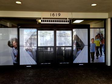 Oakland Housing Authority window perforation