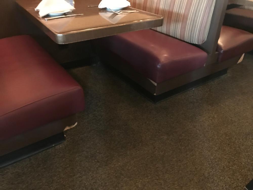 Restaurant Booth Touch Up- Eldersburg, MD