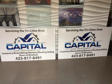 Signs for Capital Home Improvement