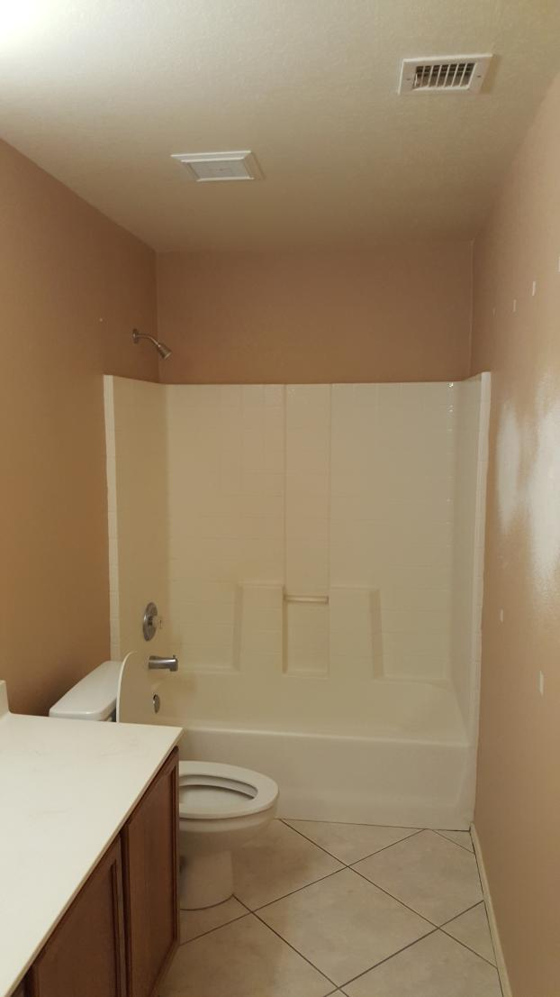 Before Shower Remodel