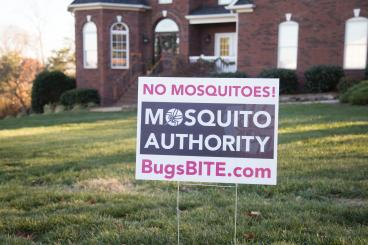 No Mosquitoes! Guaranteed!