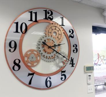4 Foot Custom-Made Acrylic Clock