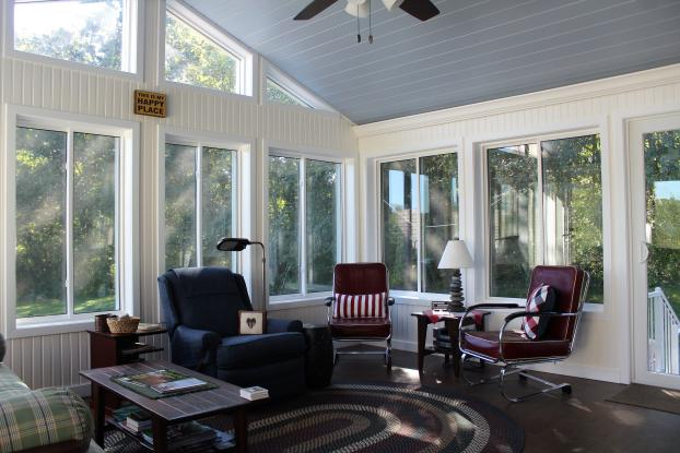 Cathedral Classic Style Sunroom with ConservaGlass in Lisbon, CT- Inside