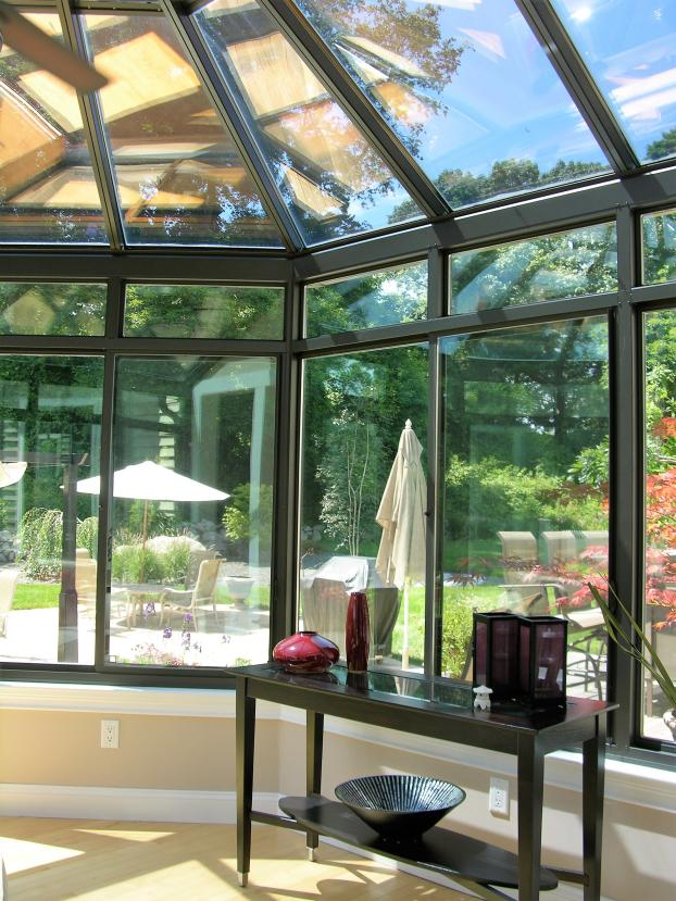 Victorian Conservatory with ConservaGlass- Mystic, CT