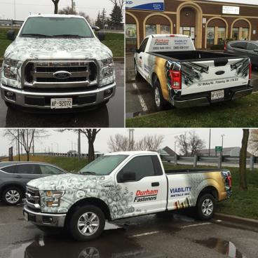 Durham Fasteners Vehicle Graphics