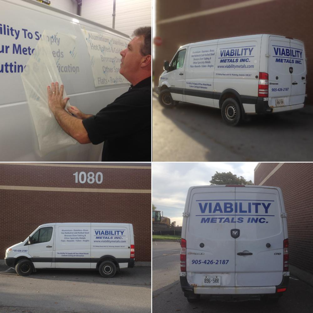 Viability Metals Inc. Vehicle Graphics