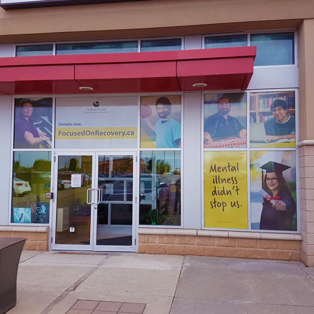 Ontario Shore Window Graphics