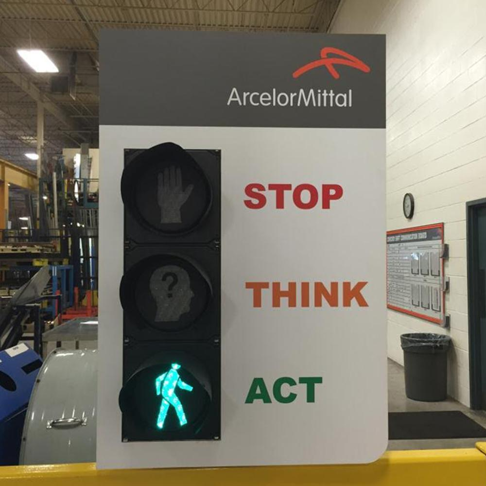 Arcelor Mittal Sign