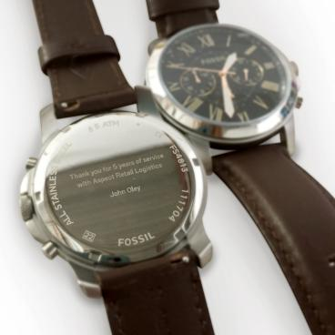 Logistics in Motion Watches