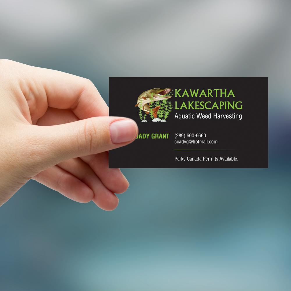Kawartha Lakescaping Business Card