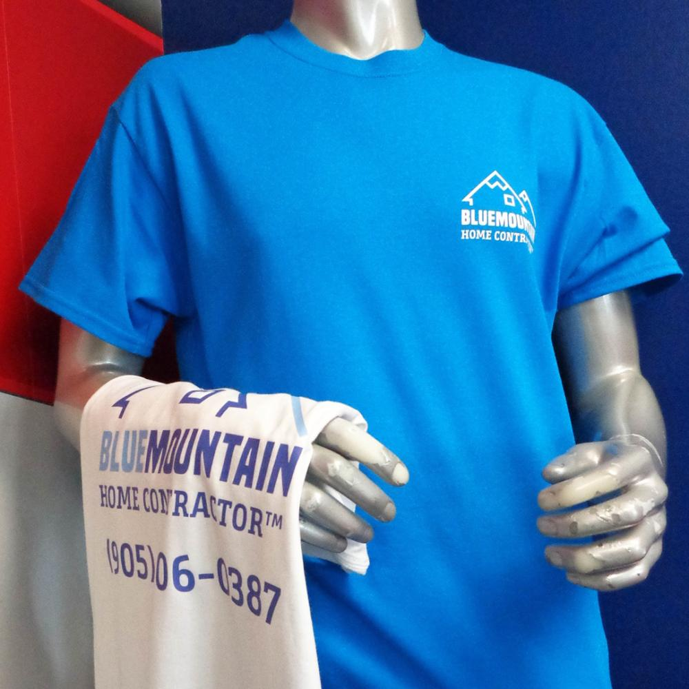Blue Mountain Home Contractor Shirts