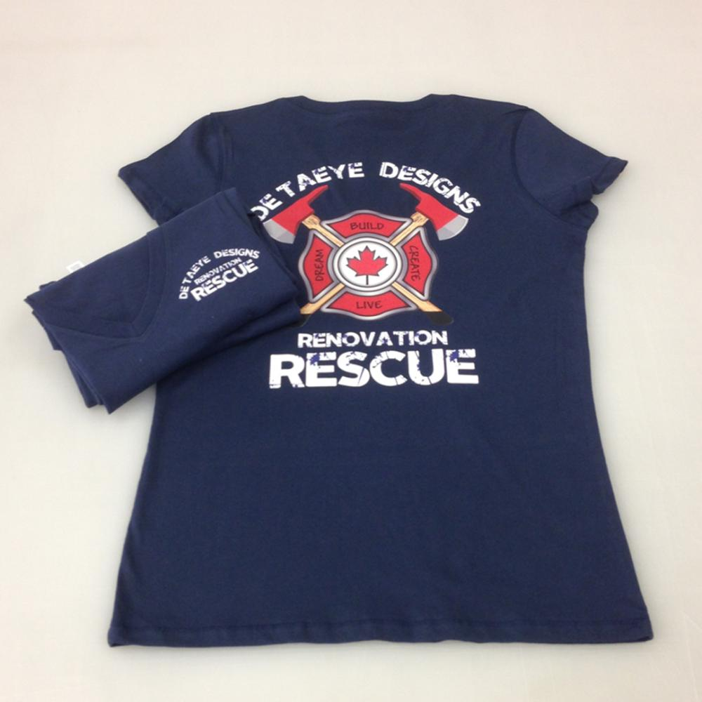 Detaeye Designs Renovation Rescue Shirts