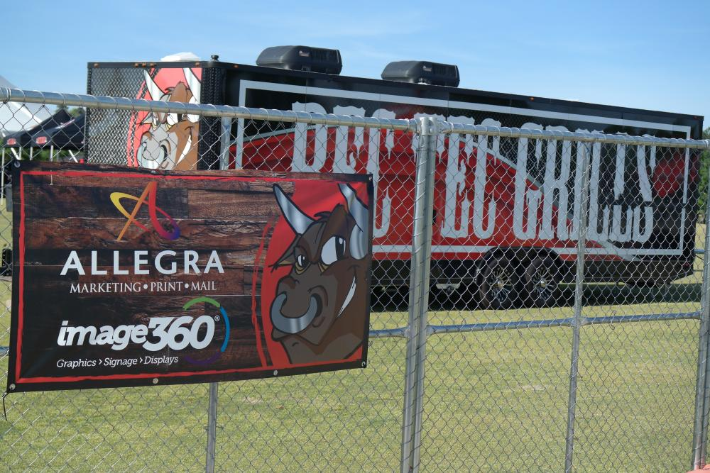 30ft Trailer Decals and Banner Sign