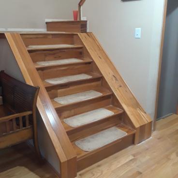 Stair siding