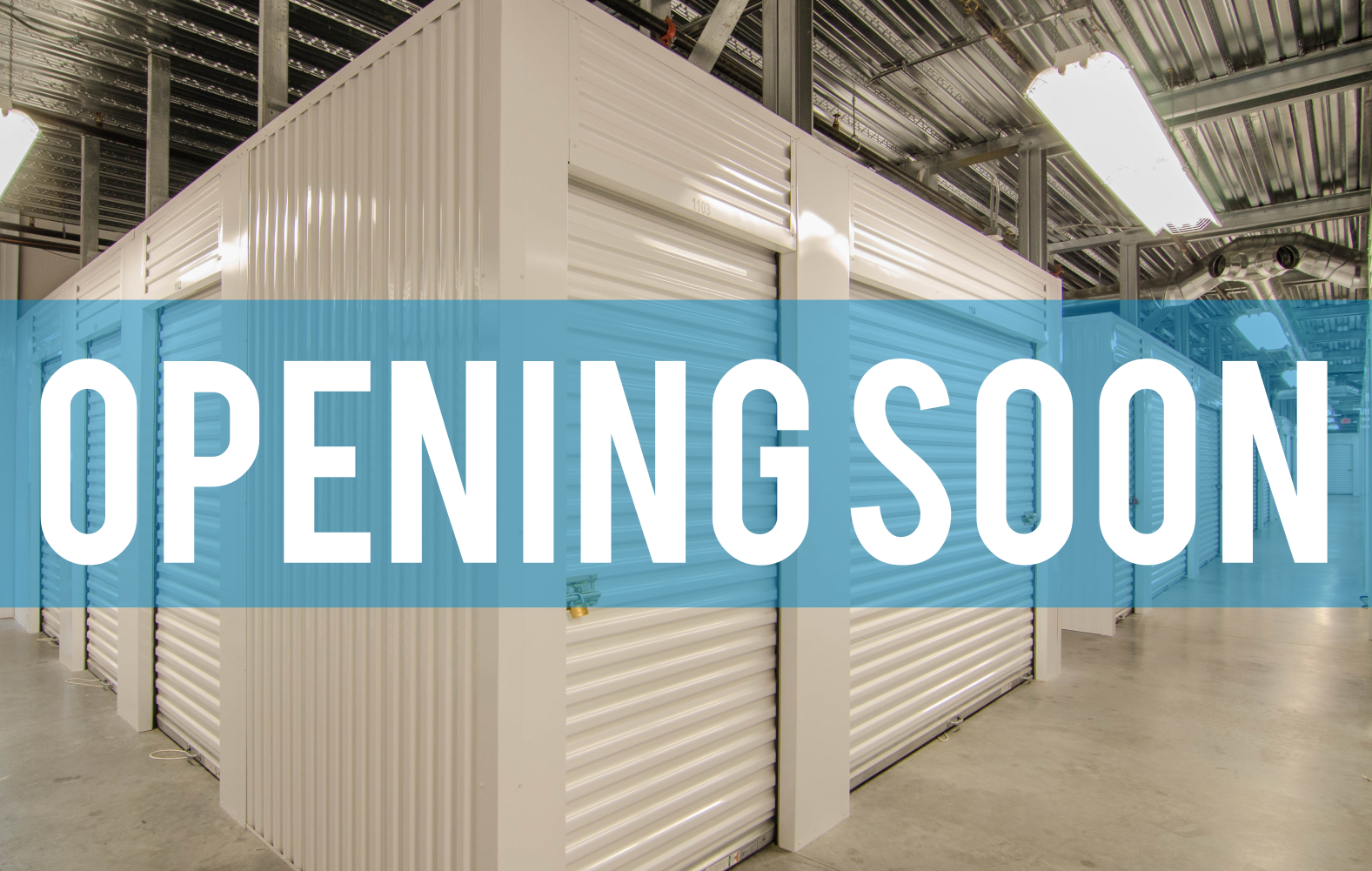 Brand New Self Storage Facility Opening Soon