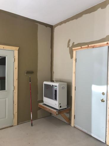 Before|During:  Interior Painting in Fairbanks AK Remodel