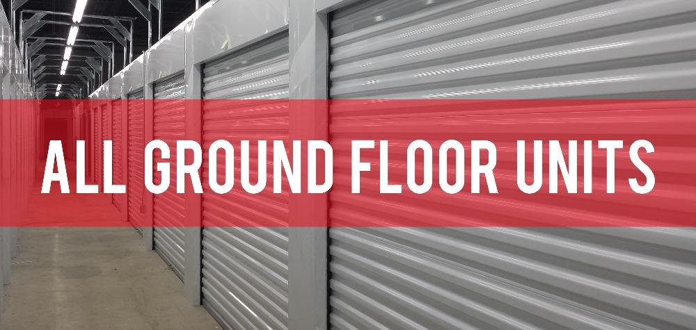 Hialeah Drive Self Storage Offers Ground Floor Access for All Units