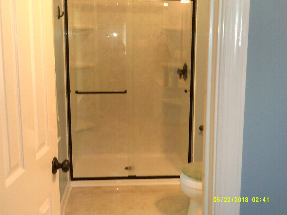 Low threshold shower Re-Bath remodel in Chesterfield, VA