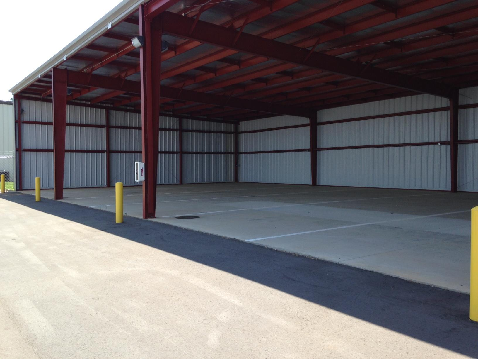 Brand NEW covered RV parking located at 523 Webb Road Concord, NC 28025