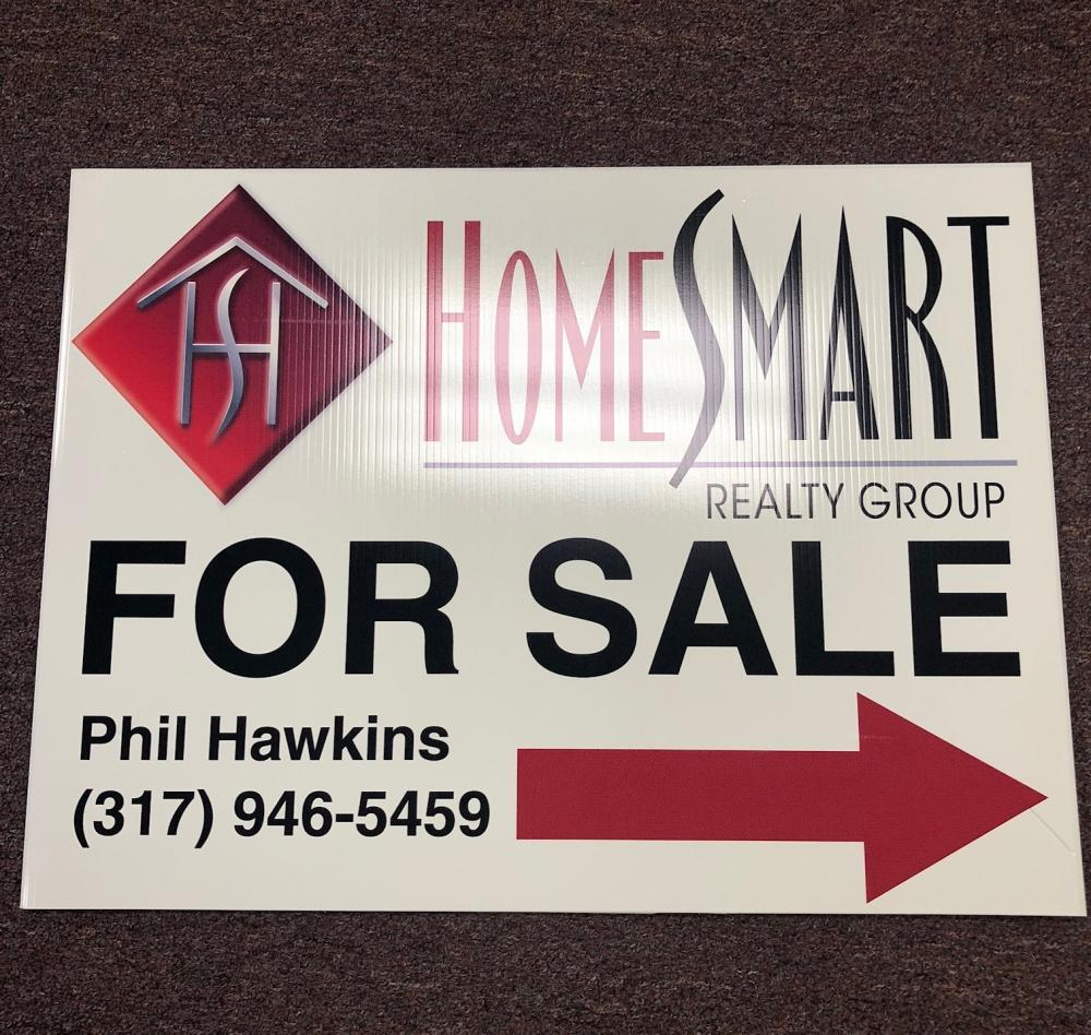 Commercial Yard Signs for Home Smart Realty Group