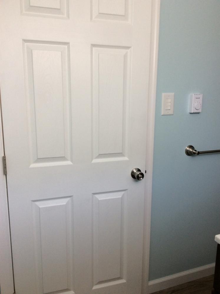 Basement Bathroom Project in Swoyersville