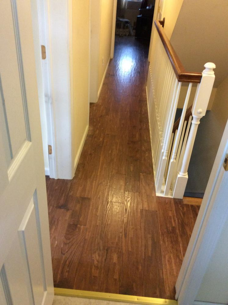 After Photo of Hardwood Floor Installation in Wilkes-Barre