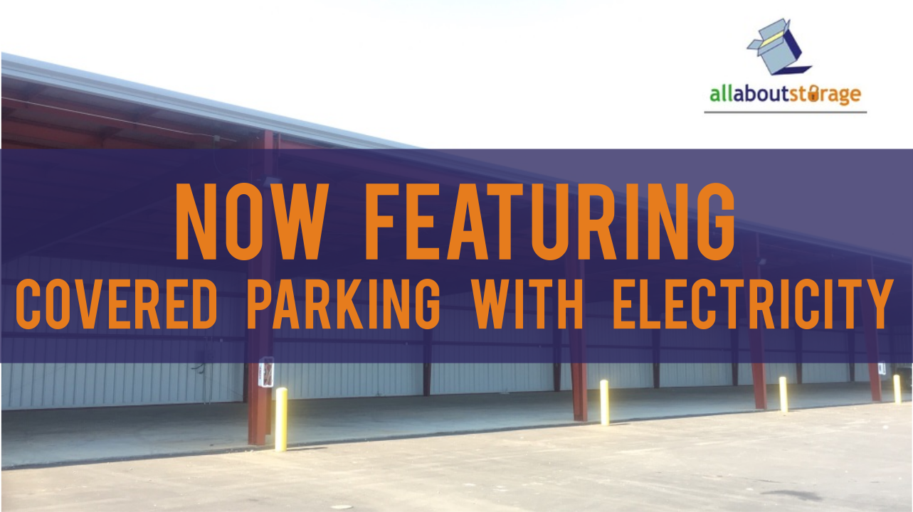 Now Featuring Covered Parking With Electricity