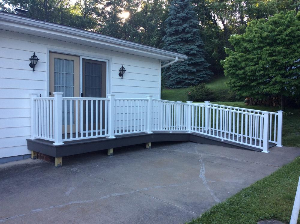 Wheelchair Ramp in Pittston