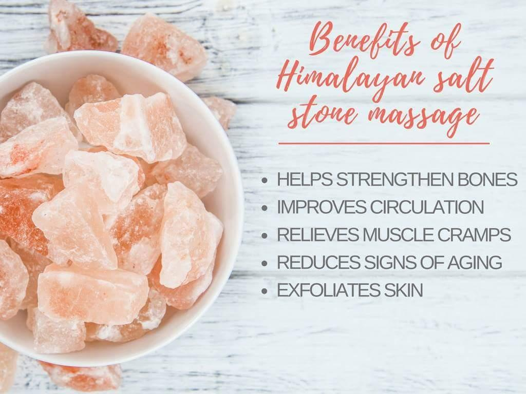 Himalayan Salt Hot Stone Massage