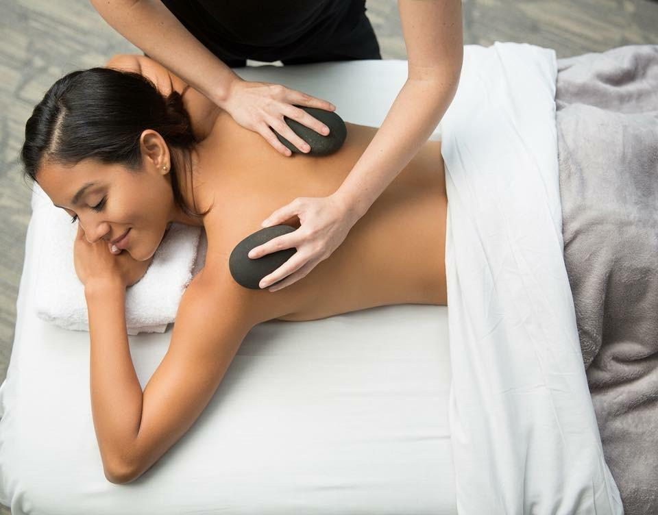 Enjoy our Signature Hot Stone Massage