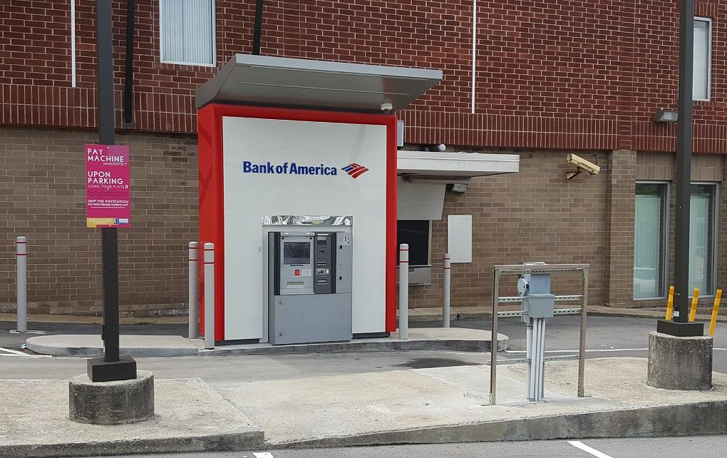 ATM on site.
