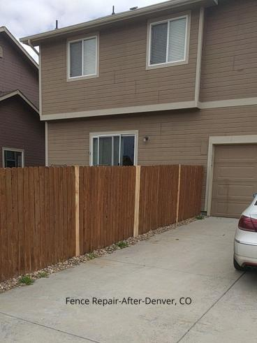 Fence Repair in Denver, CO