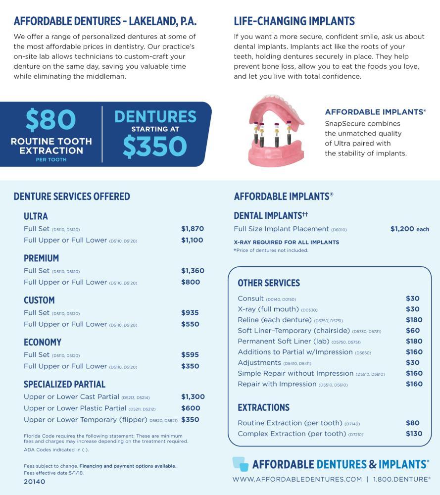 lakeland fl denture care center dentist 33803 affordable dentures implants. Black Bedroom Furniture Sets. Home Design Ideas