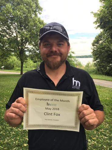 Employee of the Month for May 2018