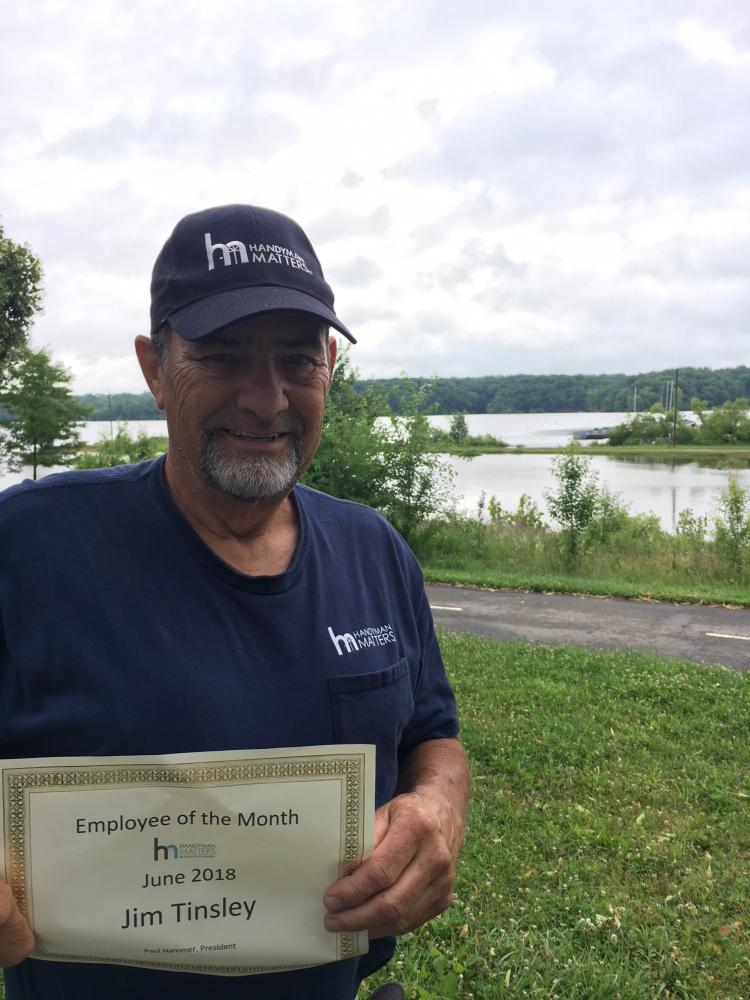 Employee of the Month for June 2018
