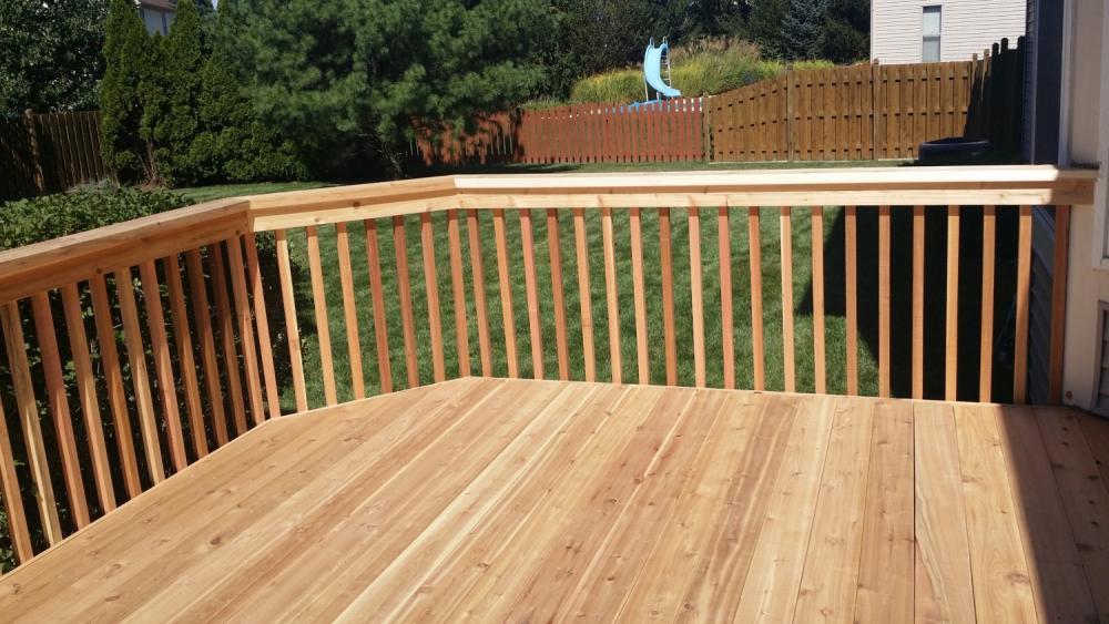 Rebuilt Deck in Westerville