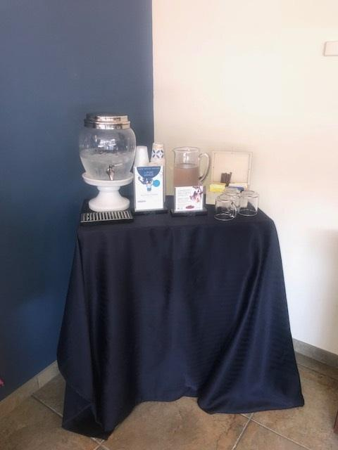 Hydration Station featuring Pure Inventions Coconut Water