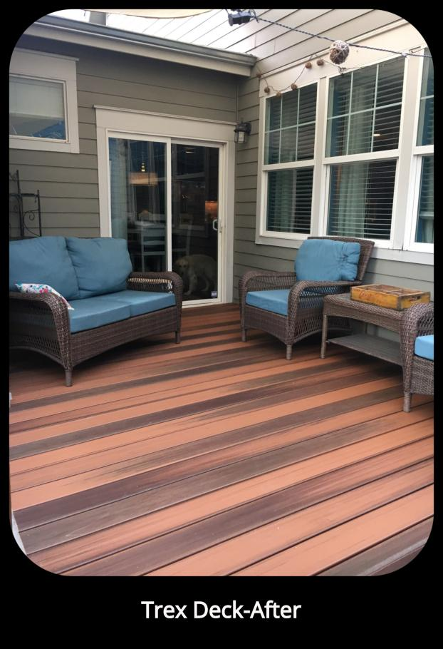 Trex Decking - Stapleton Neighborhood in Denver, CO