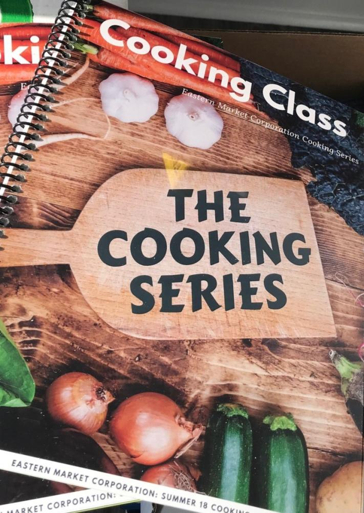 Eastern Market Culinary Student Cookbook