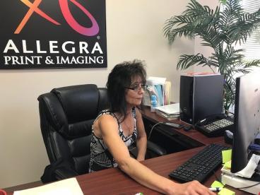 Debbie, Vice President of Allegra Charlotte-Southeast